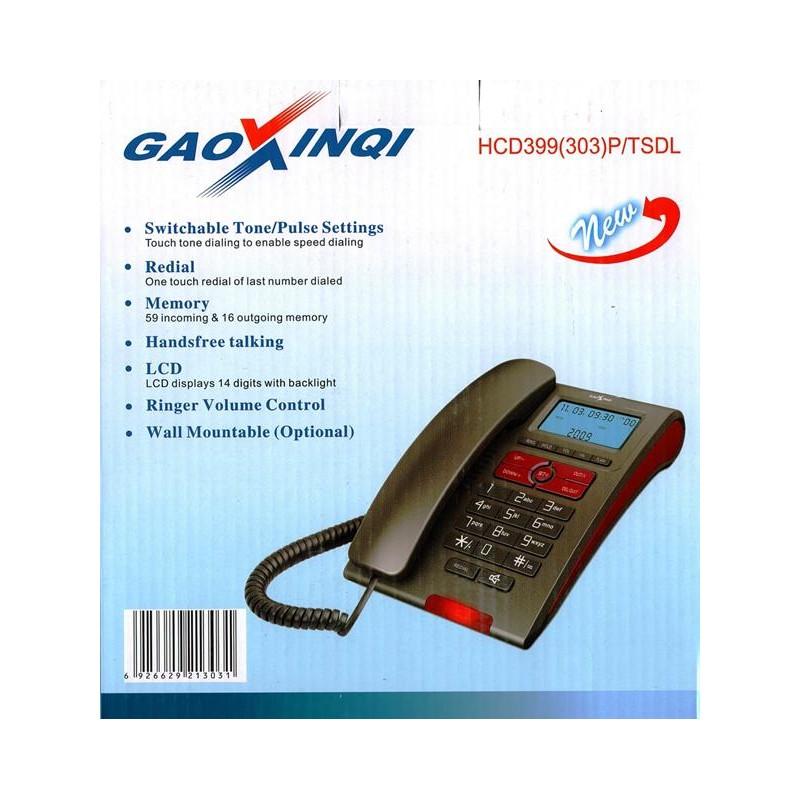 Gaoxinqi HCD399(303)P/TSDL Corded Phone Set
