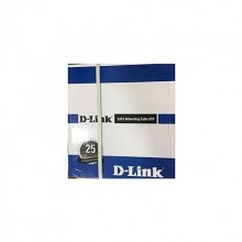 D-Link Cat-6 UTP 23AWG Cable Roll White.